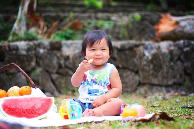 développement du goût chez bébé