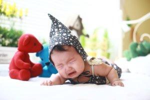 maux de ventre et coliques chez bébé